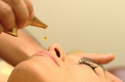 Nasya (Tratamiento nasal